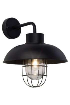 Brilliant Portland 96297/06 wandlamp zwart