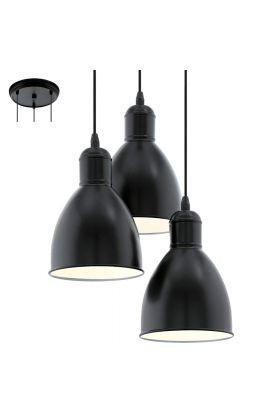 Eglo Priddy 49465 hanglamp zwart