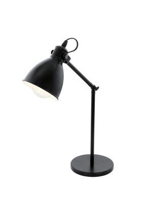 Eglo Priddy 49469 tafellamp zwart