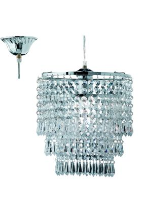 Trio Orient R1147-06 hanglamp chroom