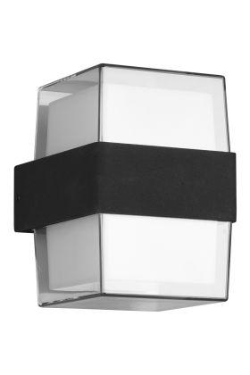 Wandlamp Molina antraciet 13cm