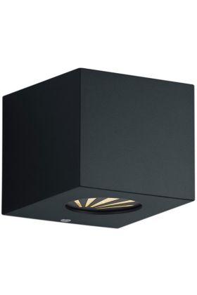 Wandlamp Cordoba zwart 10cm
