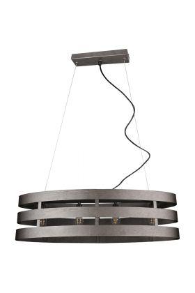 Hanglamp Duncan R30144067 staal 80cm