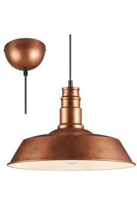 Trio Will R30421062 hanglamp koper