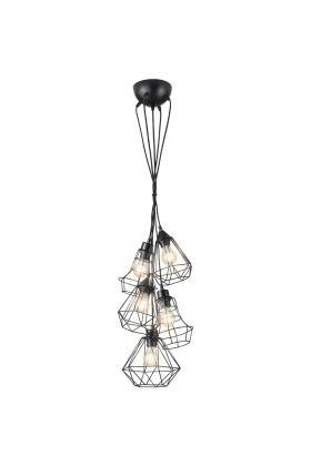 Hanglamp Meike R30725032 zwart 40cm