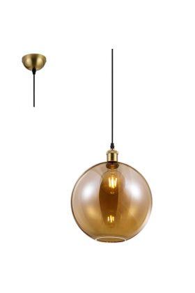 Hanglamp Dino R30771004 amber 30cm