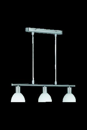 Trio Dallas R335110307 hanglamp staal