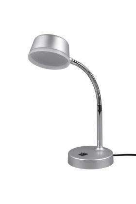 Bureaulamp Kiko grijs 34cm