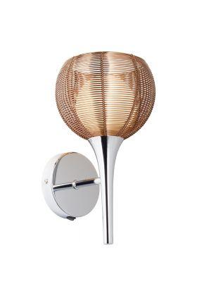 Brilliant Relax 61111/53 wandlamp brons
