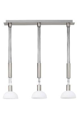 Brilliant Robinia G74476/77 hanglamp nikkel