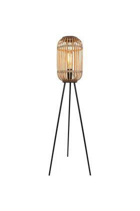 Freelight Malacca S5293Z vloerlamp hout