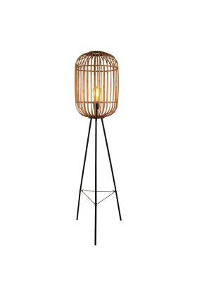 Vloerlamp Treccia S5401H rotan 150cm
