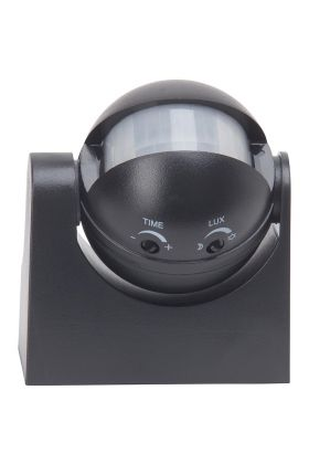 Brilliant bewegingssensor 96193/06 zwart