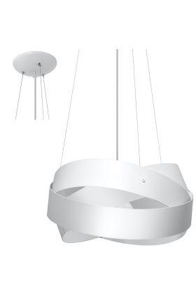 Hanglamp Mobius SOL0413 wit 40cm