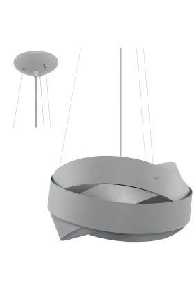 Hanglamp Mobius SOL0414 grijs 40cm