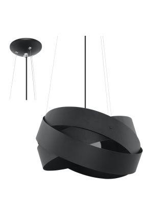 Hanglamp Mobius SOL0415 zwart 40cm