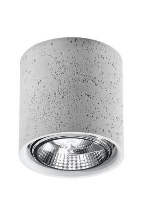 Plafondlamp Cullo SOL0645 beton 14cm