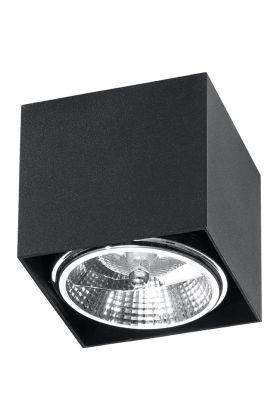 Plafondlamp Blake SOL0700 zwart 12cm