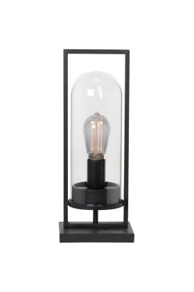 Tafellamp Tiburio zwart 44cm