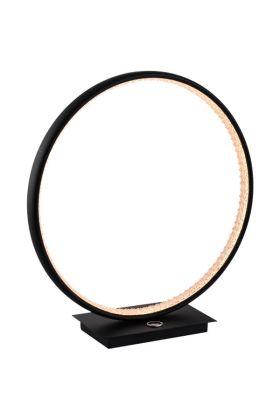 Tafellamp Diaspro zwart 36cm