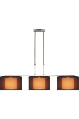 Freelight Tessuto H7303S hanglamp bruin