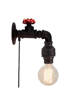 Brilliant Torch 96846/06 wandlamp zwart