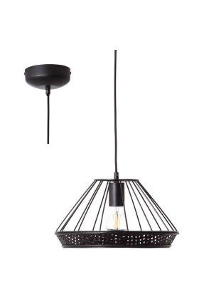 Hanglamp Tory zwart 33cm