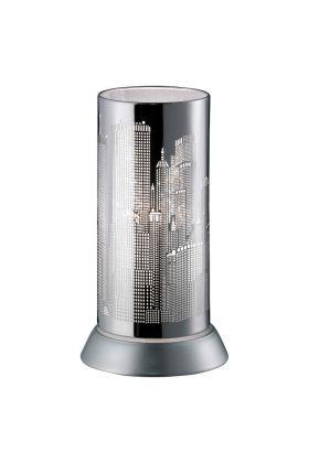 Trio City R50081006 tafellamp chroom
