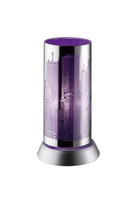 Trio City R50081092 tafellamp paars