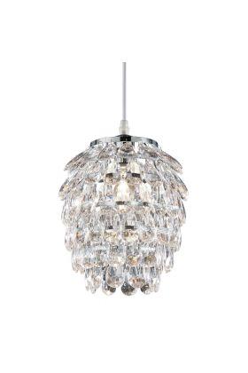 Trio Petty R30451006 hanglamp kristal