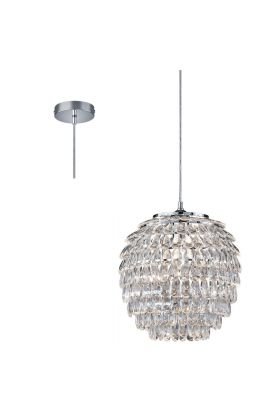 Trio Petty R30451906 hanglamp kristal