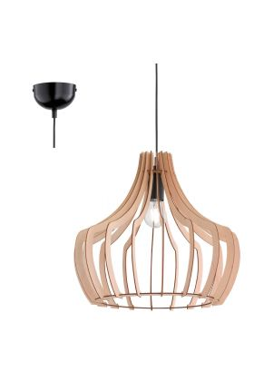 Trio Wood R30253830 hanglamp hout