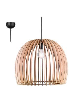 Trio Wood R30256030 hanglamp hout