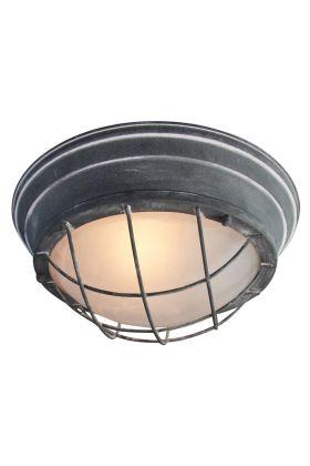 Brilliant Typhoon 94491/70 wand/plafonlamp beton