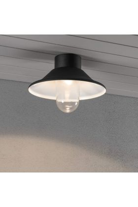Konstsmide Vega 552-750 plafondlamp zwart