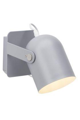 Brilliant Yan 98982/22 wandlamp grijs