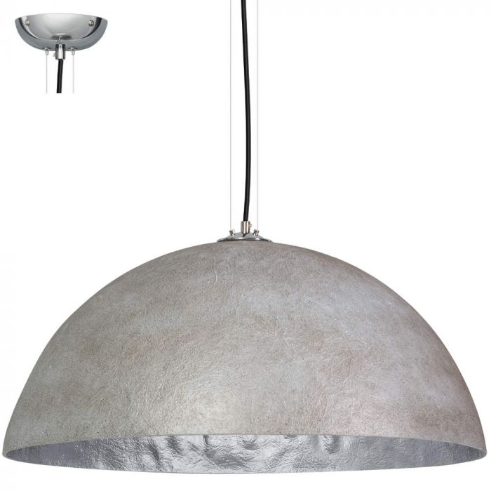 Hanglamp ETH Mezzo Tondo 05-HL4172-3618 Grijs Zilver