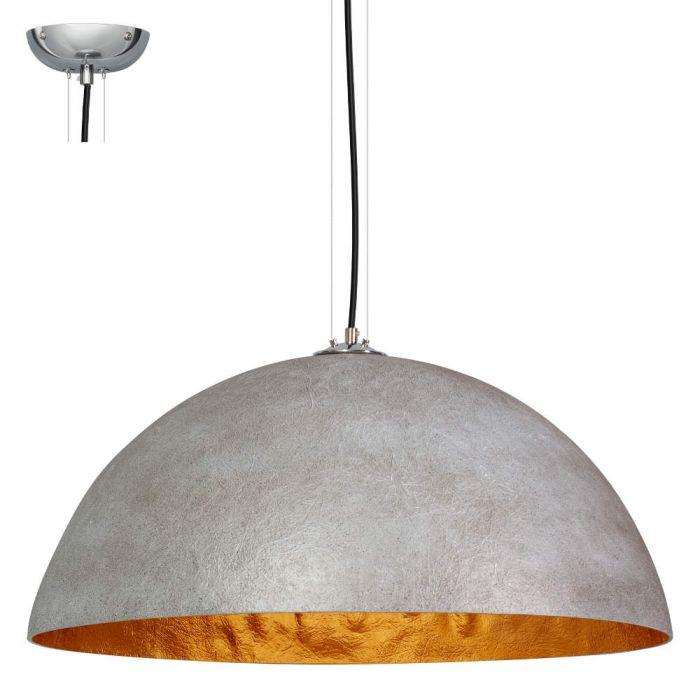 Hanglamp ETH Mezzo Tondo  05-HL4172-3634 Grijs Goud