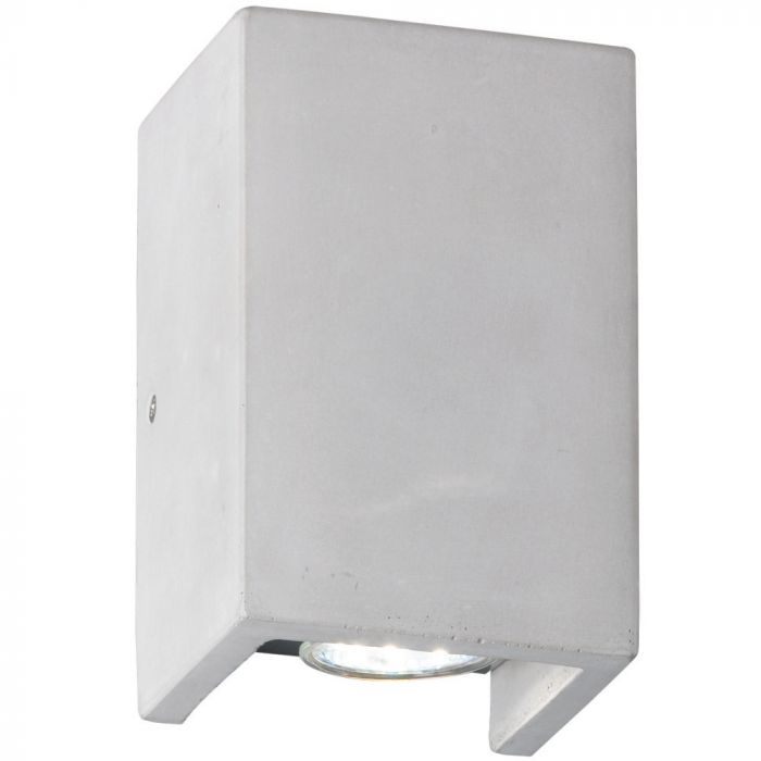 Trio Cube 206600278 wandlamp beton