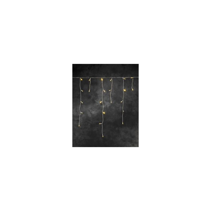 Konstsmide Icicle lichtsnoer 200 gele LED's 2733-002