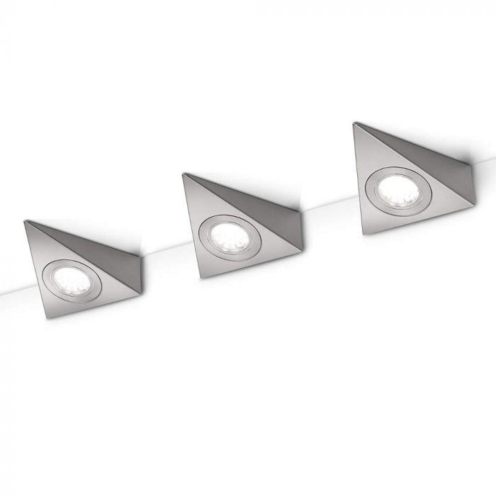 Trio Ecco 273370307 onderbouwlamp staal