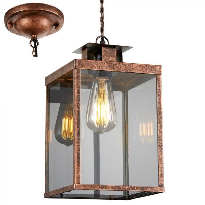 Trio Elsa 302600162 hanglamp koper