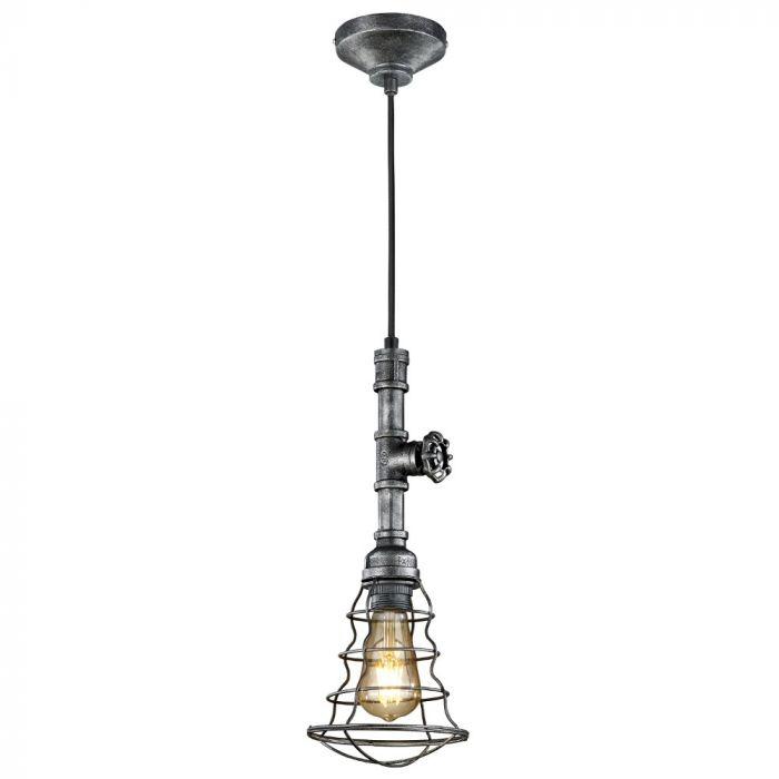 Trio Gotham 307000188 hanglamp zilver