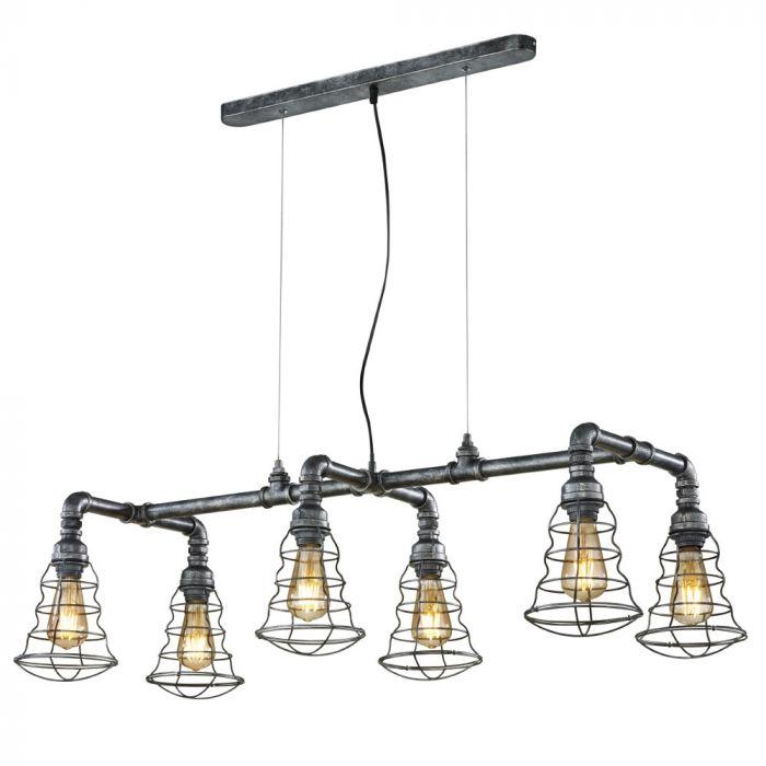 Trio Gotham 307000688 hanglamp zilver