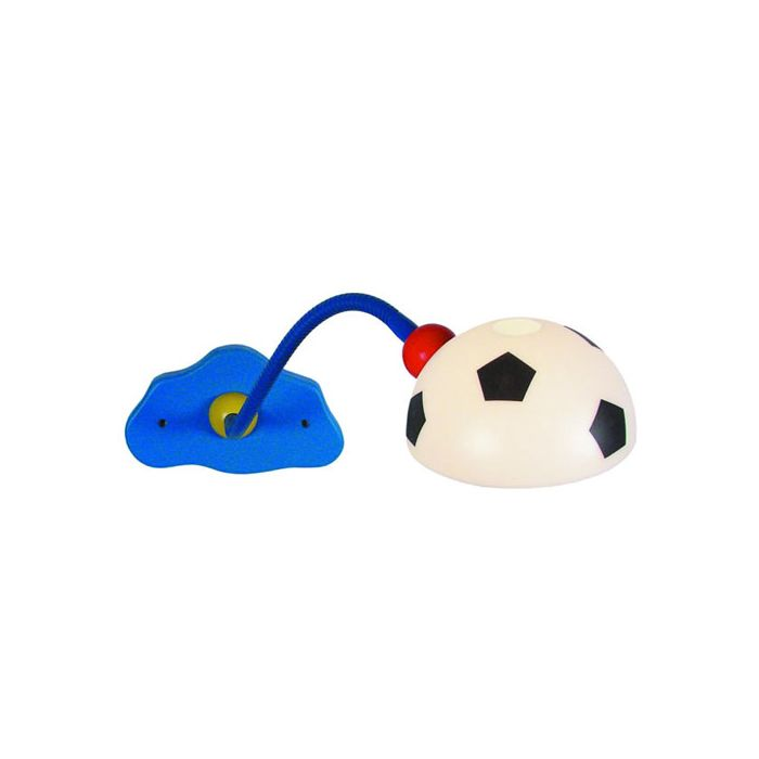 Niermann Voetbal wandlamp 330 blauw