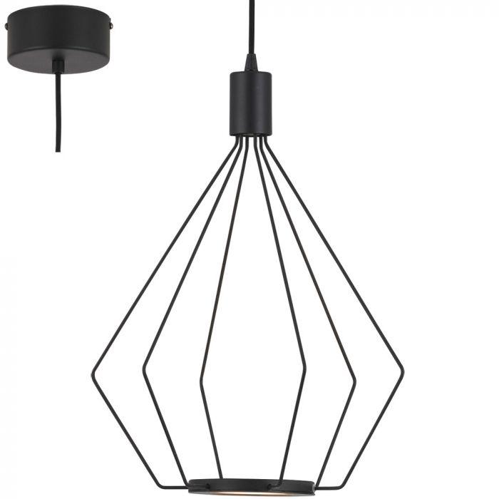 Eglo Cados 39321 hanglamp zwart