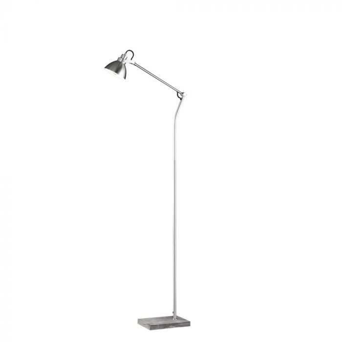 Trio Timber 405000130 vloerlamp staal