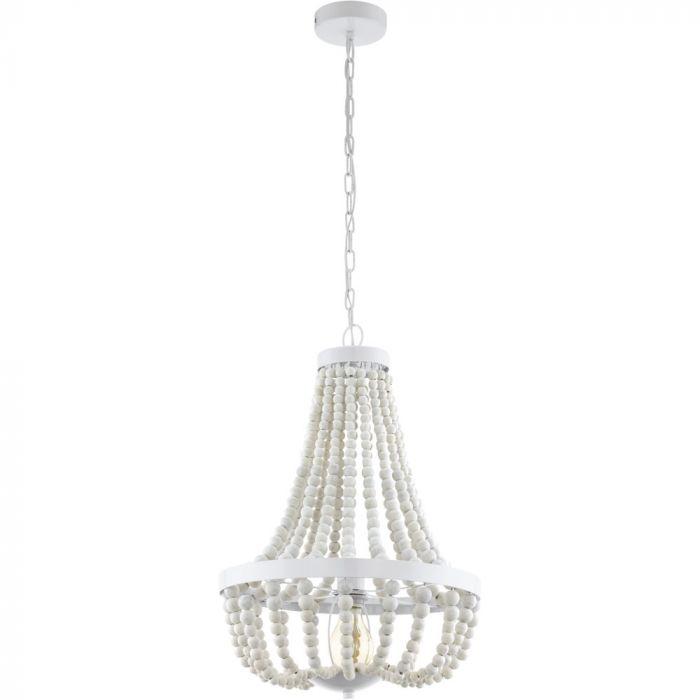 Eglo Barrhill 49607 hanglamp wit
