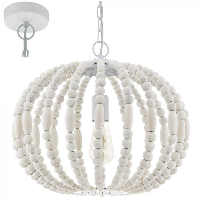 Eglo Barrhill 49608 hanglamp wit