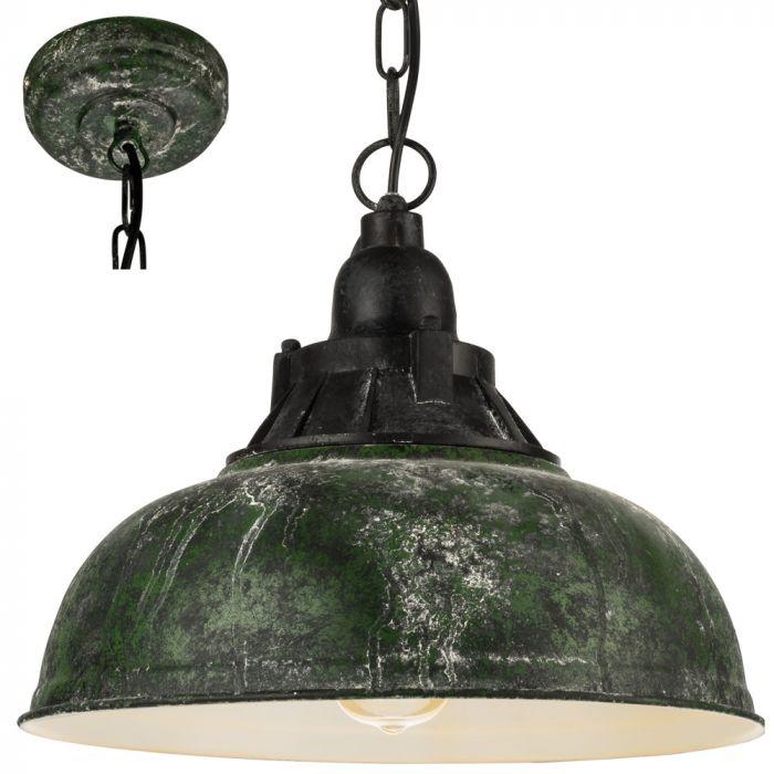 Eglo Grantham 49735 hanglamp groen